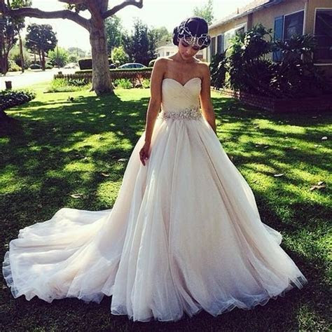 Discount Princess Ball Gown Wedding Dresses With Crystal