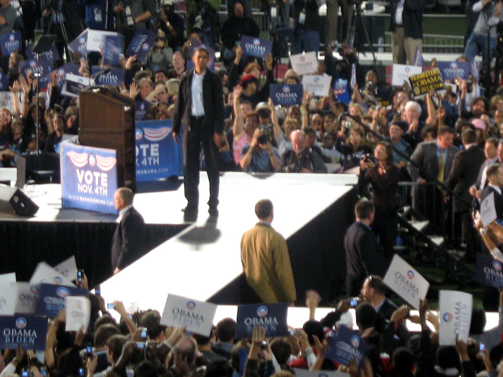 Obama Rally at the University of Cincinnati