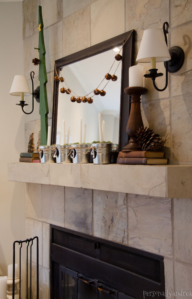 DIY Christmas Bell Garland | personallyandrea.com