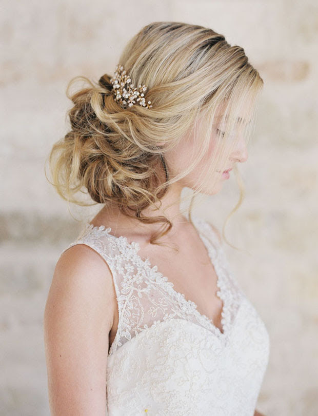 16 Romantic Wedding  Hairstyles  for 2019 2019 Brides