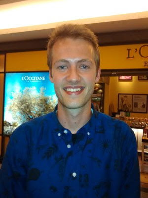 O dinamarquês Mathias Noerlem  (Foto: Isabella Calzolari/ G1)