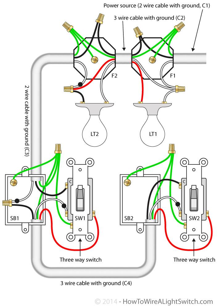 Three way switch | How to wire a light switch