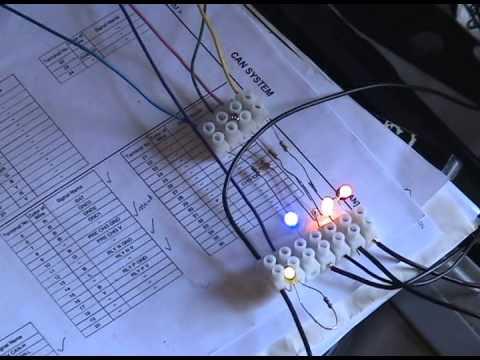 Реле и сигналы предварительной зарядки аккумулятора Nissan Leaf (Nissan Leaf Battery Pack Relay and Pre-Charge Signals)