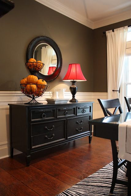 Pottery Barn black finish tutorial