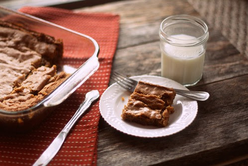 brown butter toffee blondies