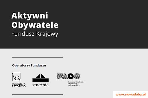Znalezione obrazy dla zapytania programu Aktywni Obywatele – Fundusz Krajowy.