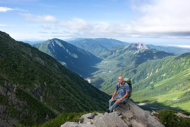 Climbing Hotaka