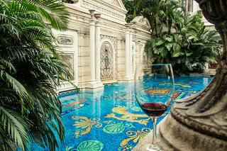 Versace Mansion, Wine Tasting