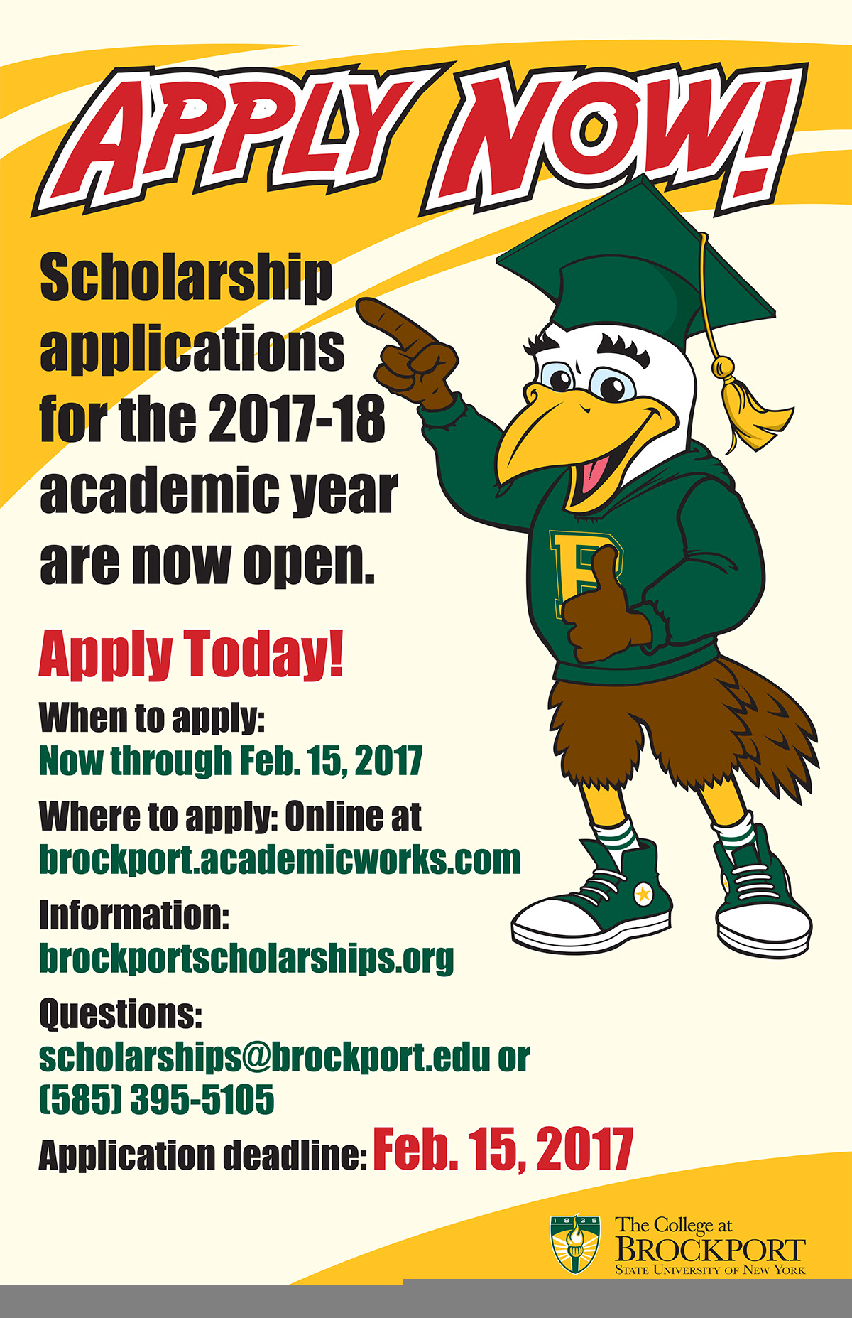 The College at Brockport Alumni and Friends - Scholarships