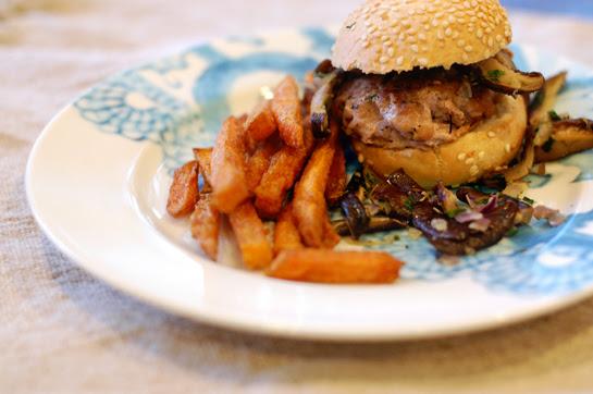 a yummy burger