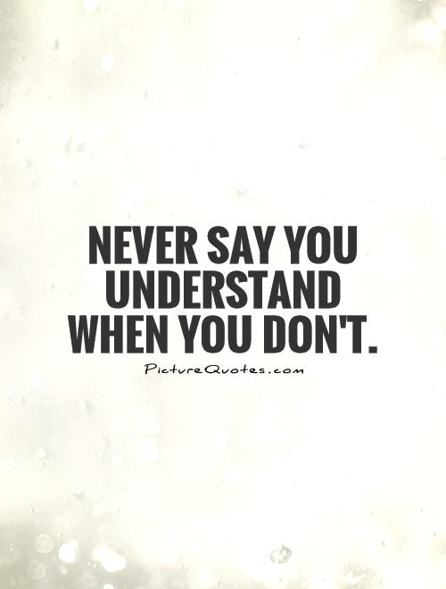 Quotes About Understood 544 Quotes