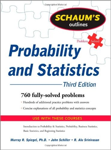 [PDF] Schaum's Outline of Probability and Statistics, 3rd Edition Free Download