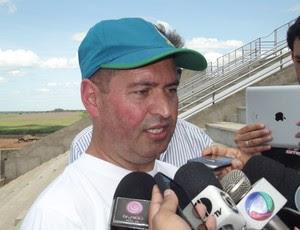 Reginaldo Cordeiro, inspetor CBF (Foto: Arthur Barbalho)