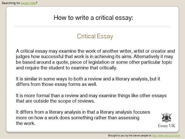how to write an introduction to an analysis essay