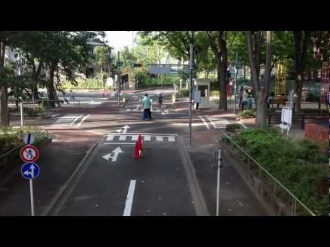 Suginami Children's Traffic Park Time Lapse Video