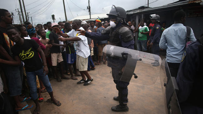Liberia battles spread of Ebola