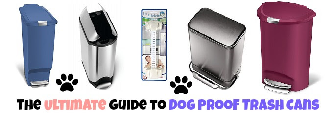 The Ultimate Dog Proof Kitchen Trash Can Guide Locking Pet Proof Cans