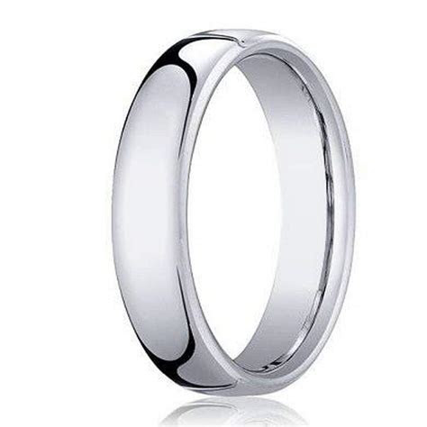 Benchmark Men's Wedding Band in Cobalt Chrome with Heavy Fit