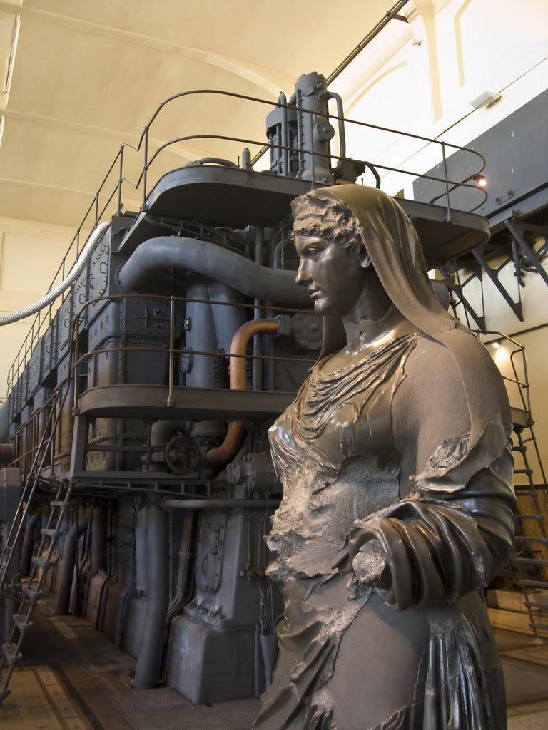 Roma Centrale Montemartini - Museos Capitolinos - Escultura Romana
