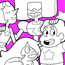 Steven Universe Para Colorear Dibujos Para Colorear Imprime