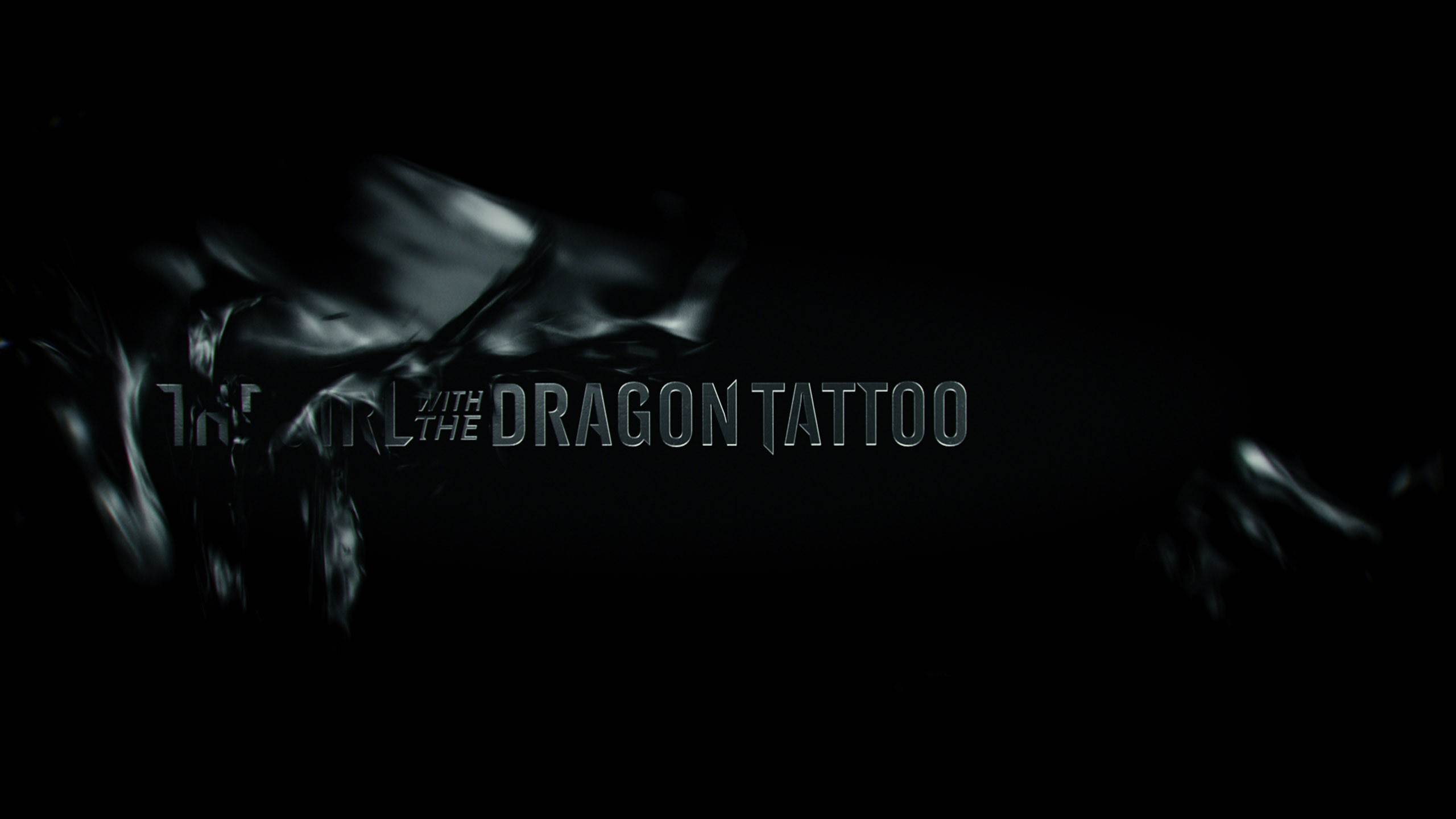The Girl With The Dragon Tattoo Dark Black Novel Tattoo