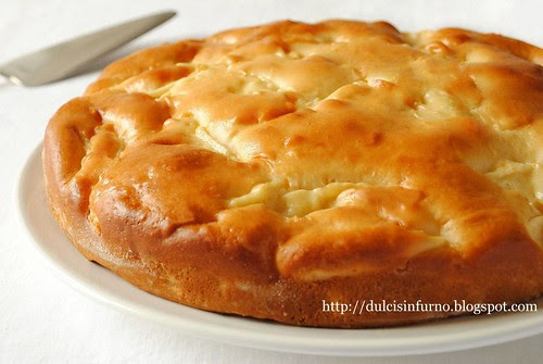 Torta di Mele Light-Light Apple Cake