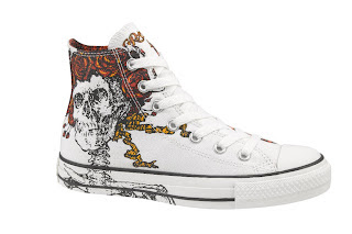 Grateful Dead x Converse Sneakers - Skull and Roses Chuck Taylor All Stars