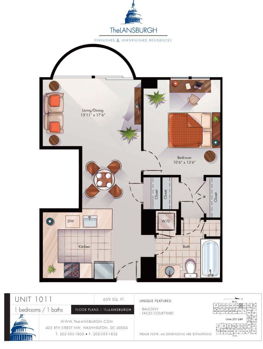 Floor Plans – The Lansburgh - Rutherford House 908 3162 3 Bedrooms And 2.5 Baths The House Designers