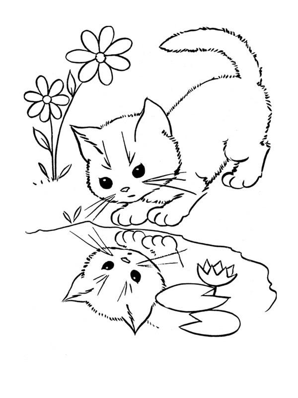 260 Dessins De Coloriage Chat à Imprimer Sur Laguerchecom Page 27
