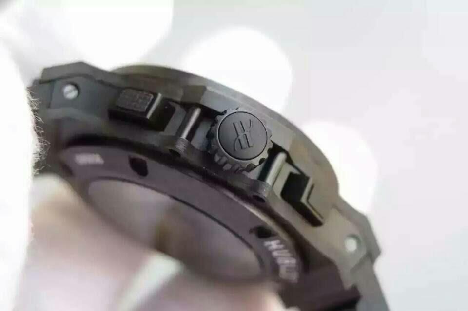 Hublot Carbon Fiber Watch Crown