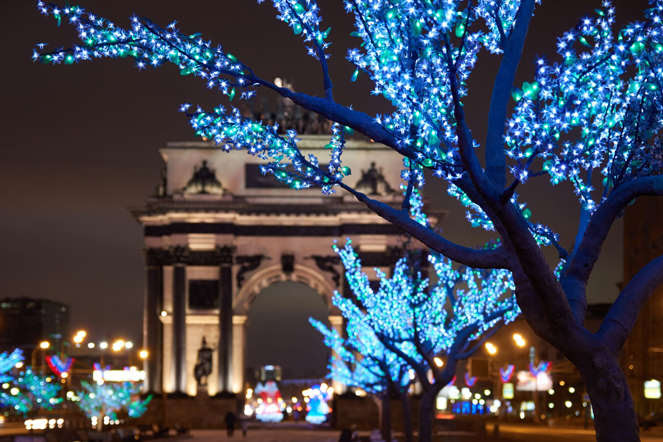Triumphal arch of Moscow (2014)