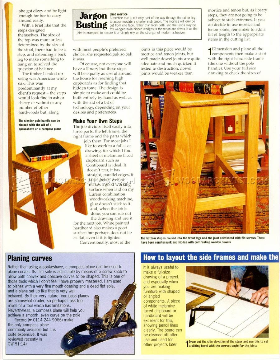 Woodworking Plans For Library Steps Woodworking Gift Ideas