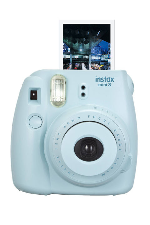 Mobile phones mean everyone's a photographer, but go a step further and actually print your sun-soaked memories out on command.Fujifilm Instax Mini 8 Camera, $70; target.com