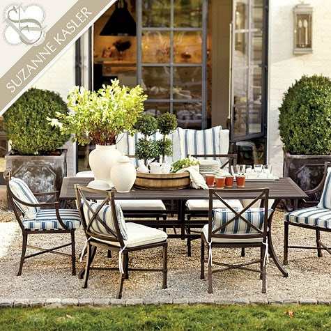 Patio Furniture, Plants, Lanterns and The Courtyard - Life ...