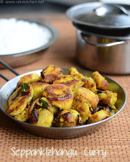 seppankizhangu-roast curry