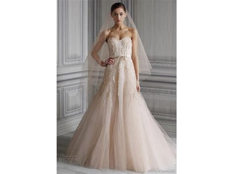 Monique Lhuillier Candy Size 8 Wedding Dress ? OnceWed.com