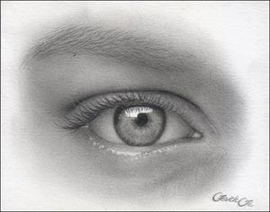 pencil eye free art lesson