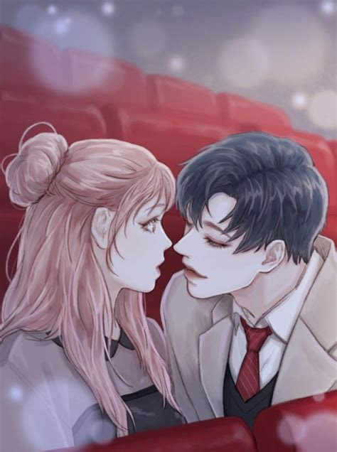 illustration pinterest couples anime