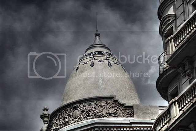 Cupola, Via Laietana, Barcelona [enlarge]
