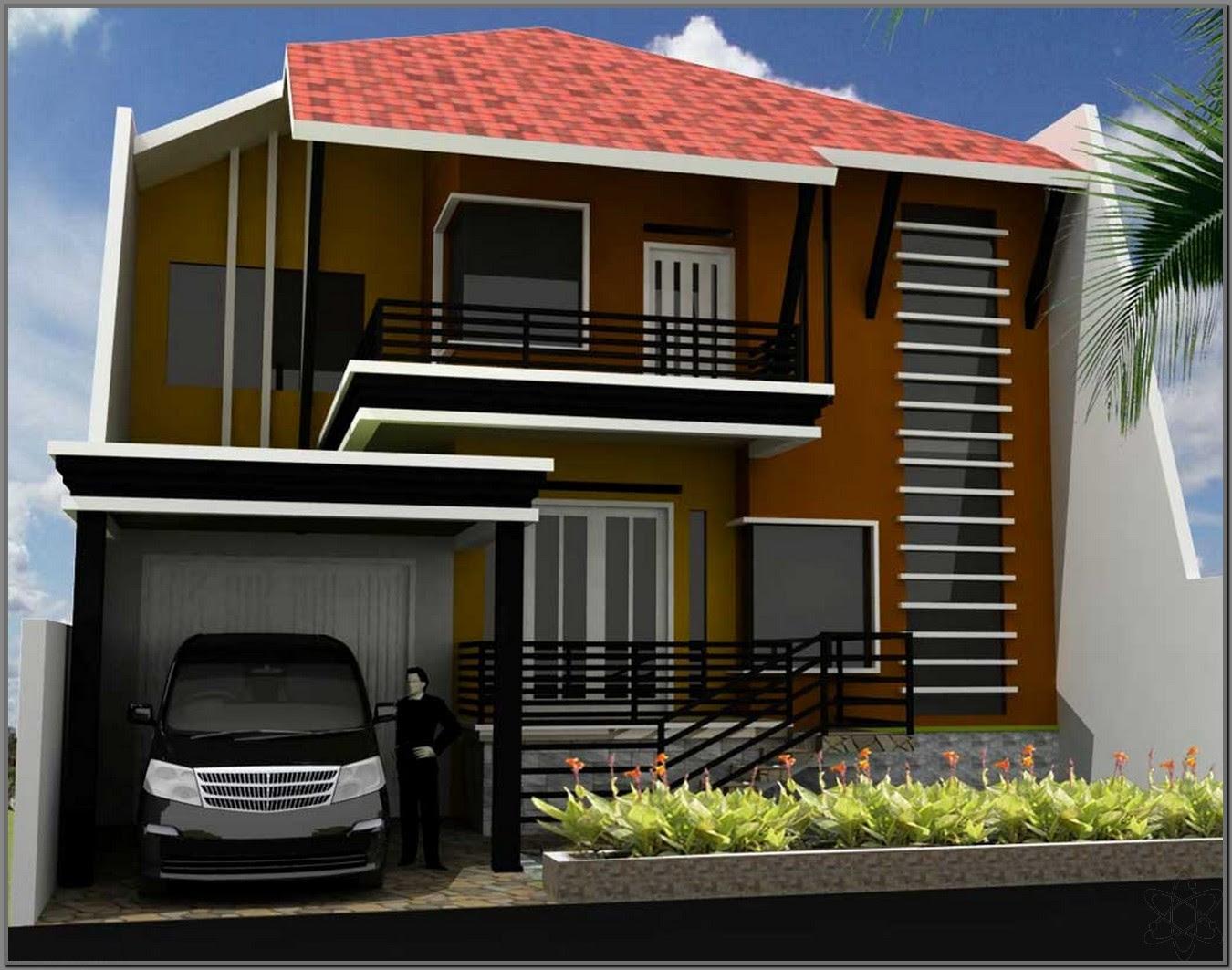 21 Desain Rumah Minimalis 2 Lantai Nyaman dan Indah ...