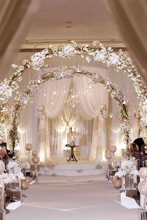 32  Unique and Breathtaking Wedding Backdrop Ideas   CueThat