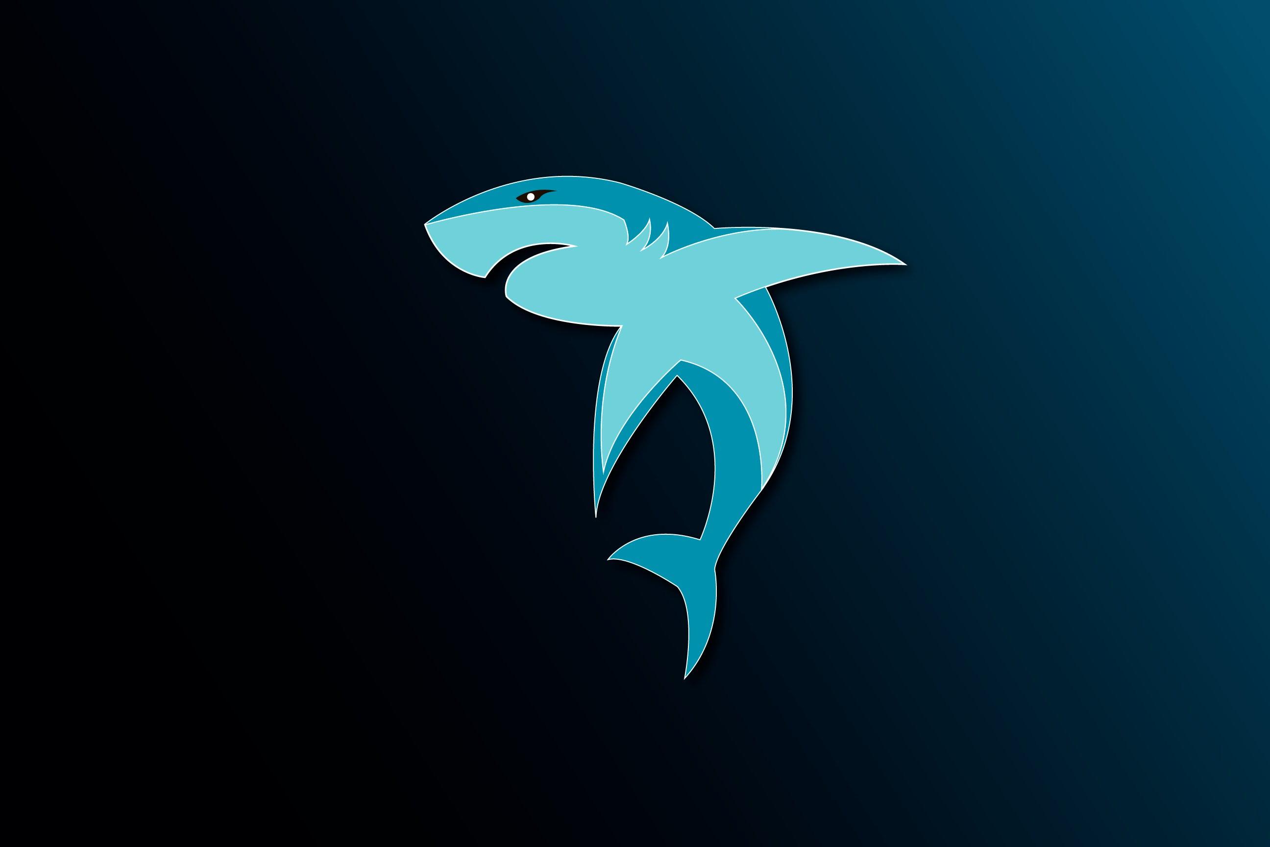 Illustrator Tutorial | Shark Logo Design | ADOBE Lessons