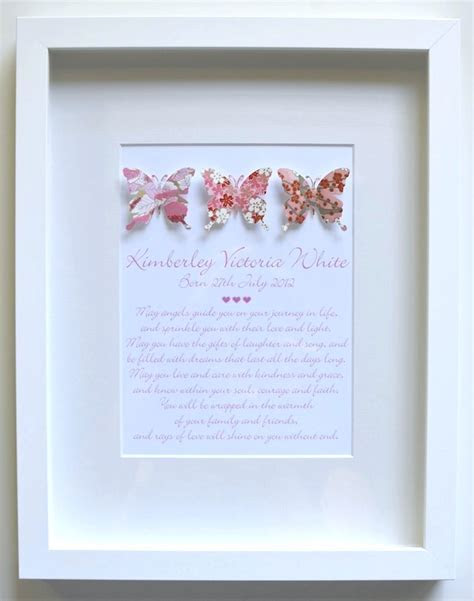 Gorgeous Baby Girls Unique Paper Butterfly Theme