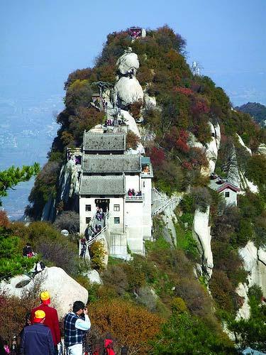 Núi Hoa Sơn trong truyện Kim Dung 2