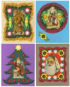 Hand cut cards