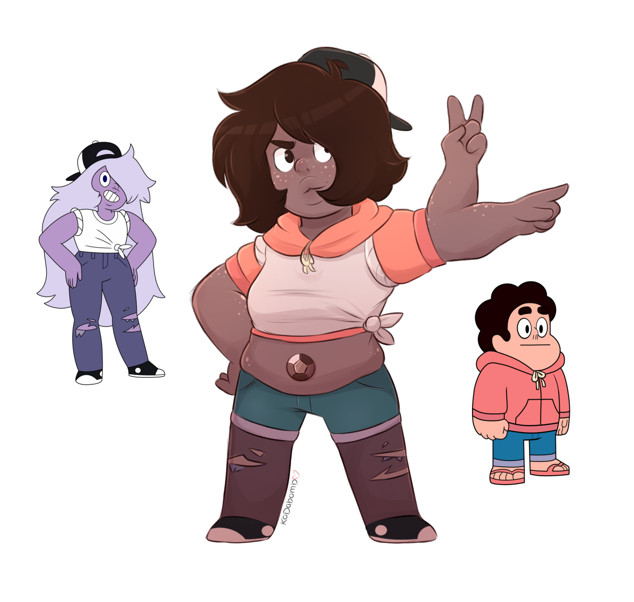 made an outfit fusion!   smoky is my love