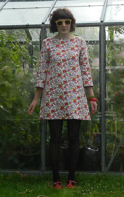 Burda #104  Dress