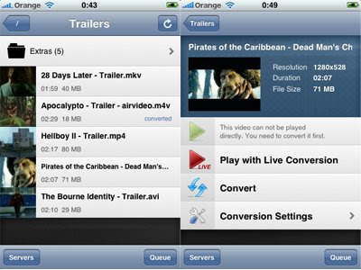 use airvideo to stream movies