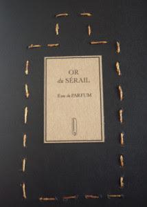 naomi goodsir or du serail sewn booklet cafleurebon