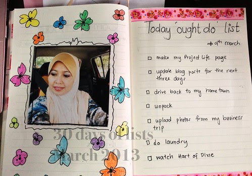 09. Today ought to list